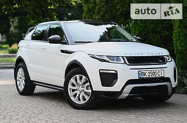 Характеристики Land Rover Range Rover Evoque Внедорожник / Кроссовер