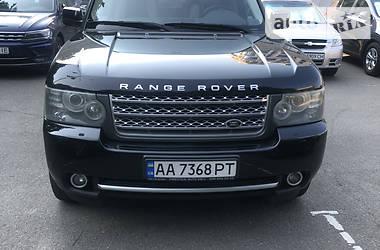Характеристики Land Rover Range Rover Внедорожник / Кроссовер