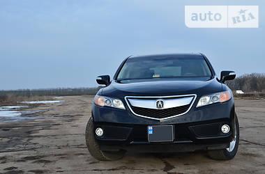 Характеристики Acura RDX Позашляховик / Кросовер