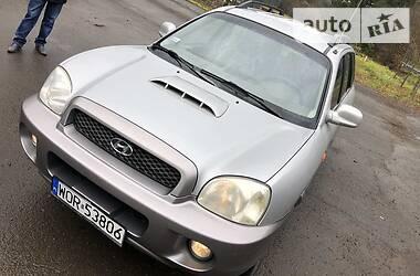 Характеристики Hyundai Santa FE Позашляховик / Кросовер
