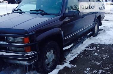 Характеристики Chevrolet Suburban Внедорожник / Кроссовер