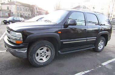 Характеристики Chevrolet Tahoe Внедорожник / Кроссовер