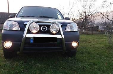 Характеристики Mazda Tribute Позашляховик / Кросовер
