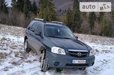 Характеристики Mazda Tribute Внедорожник / Кроссовер