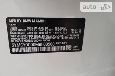 Характеристики BMW X6 M Позашляховик / Кросовер