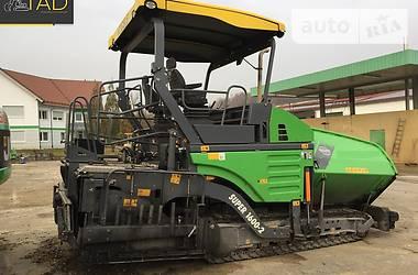 Vogele Super 1600-2 ERGOPLUS 2012