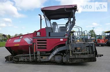 Vogele Super 1800-2 2009