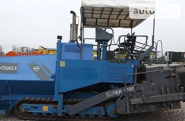 Vogele Super 1600 з ПДВ 2002
