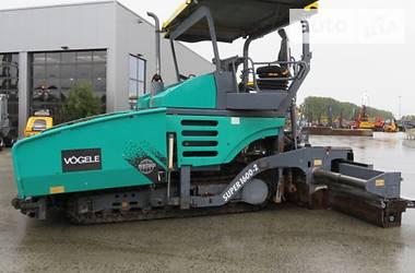 Vogele Super 1600-2 Ergoplus 2008