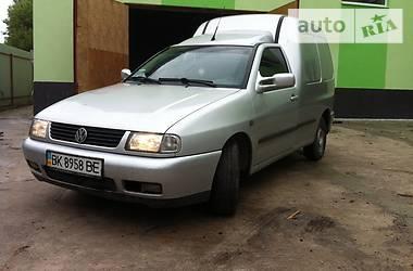 Volkswagen Caddy груз.  2000