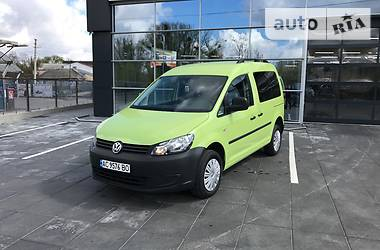 Volkswagen Caddy пасс. 4MOTION 2011