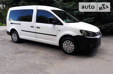 Volkswagen Caddy пасс. MAXI LONG 2014