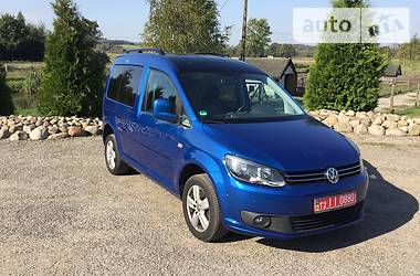 Volkswagen Caddy пасс. 2.0 EDITION30 2014