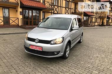 Volkswagen Caddy пасс. MAXI 7-  2011
