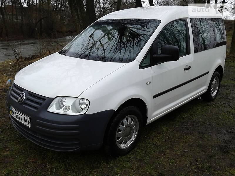 Volkswagen Caddy 2005 года