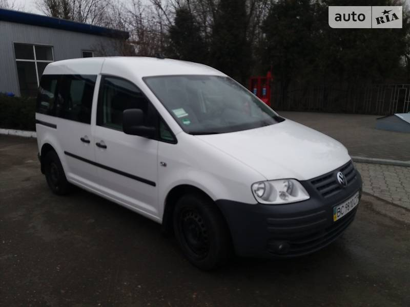 Volkswagen Caddy 2009 года