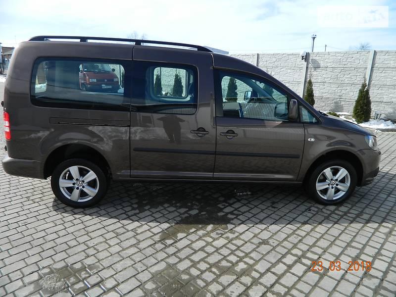 Volkswagen Caddy 2011 года