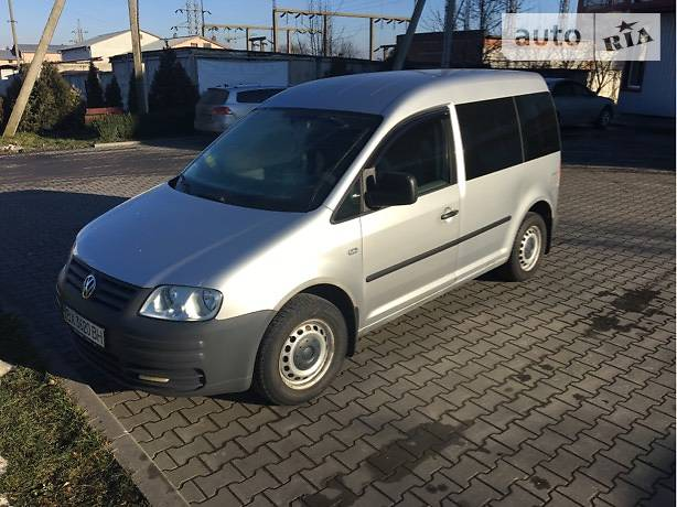 Volkswagen Caddy 2006 года
