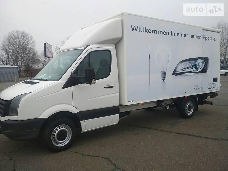 Volkswagen Crafter 2012 года