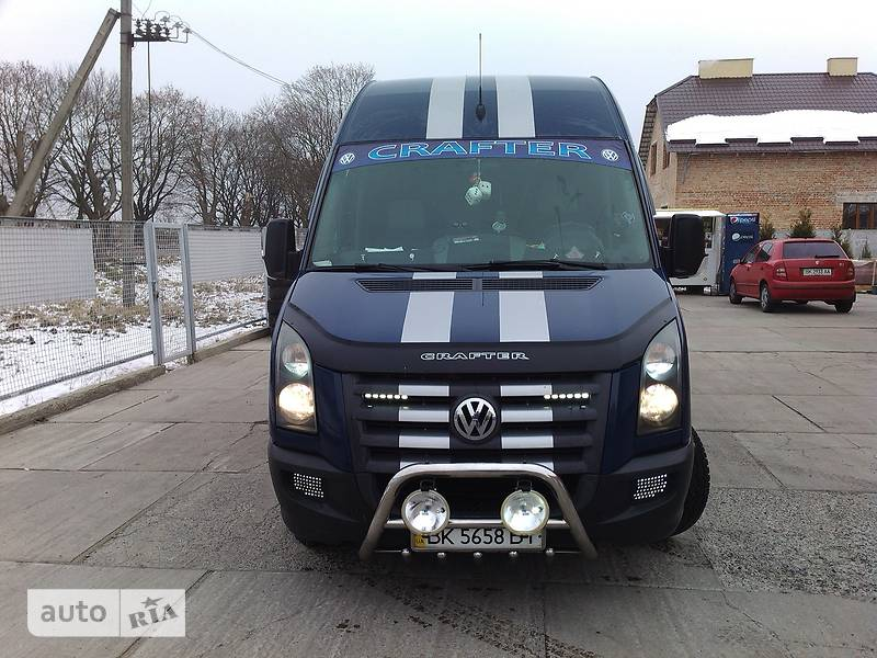 Volkswagen Crafter пасс.