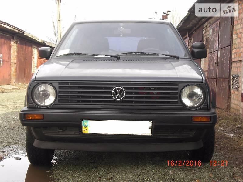 Volkswagen Golf GTI 1988 года