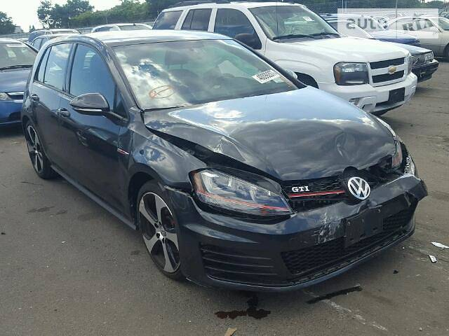 Volkswagen Golf GTI 2015 года