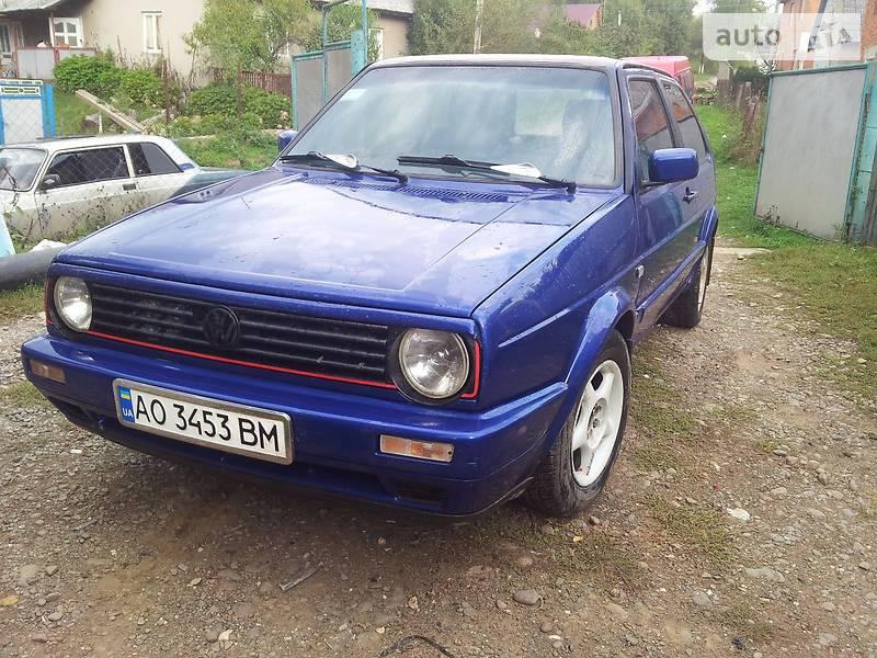 Volkswagen Golf 1986 года