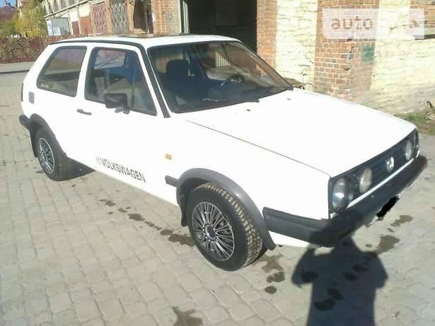 Volkswagen Golf 1984 року