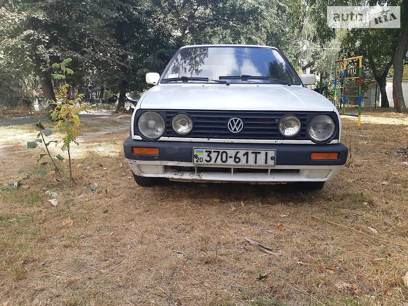 Купе Volkswagen Golf II