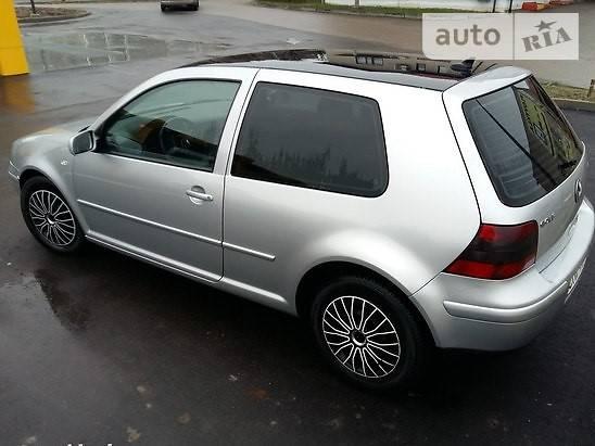 Купе Volkswagen Golf IV
