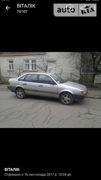 Volkswagen Passat 1989 года
