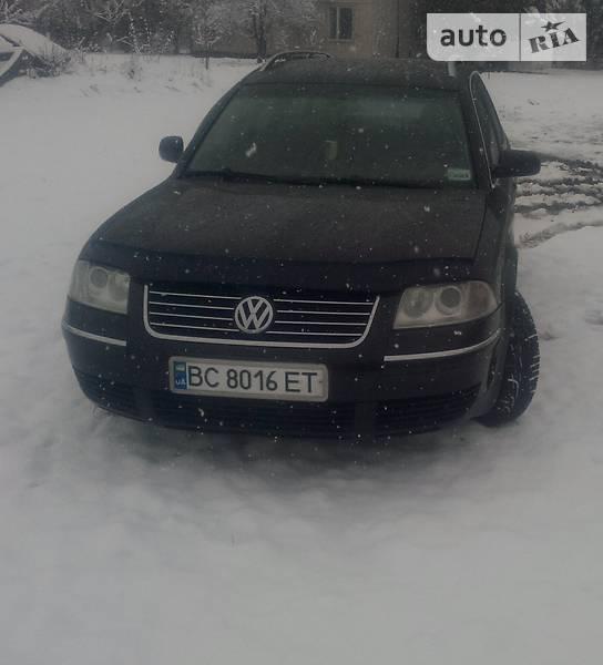Volkswagen Passat 2002 року