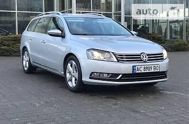 Volkswagen Passat B7 keyless go 4motion 2011