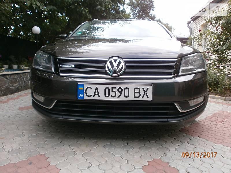 Volkswagen Passat 2012 года