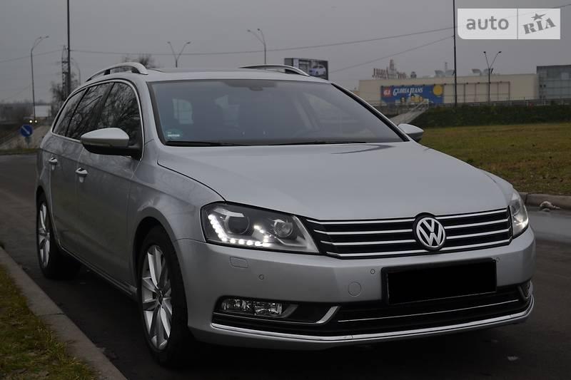 Volkswagen Passat 2014 року