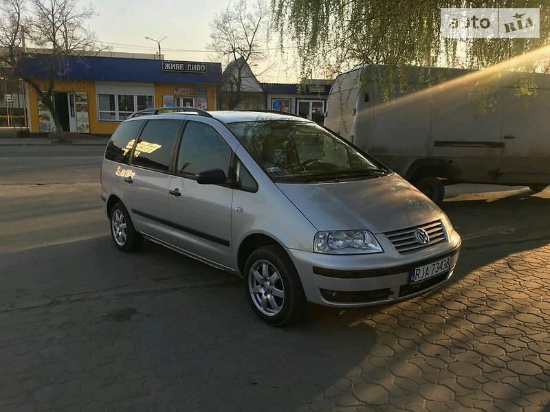 Volkswagen Sharan 2003 року