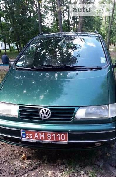 Volkswagen Sharan 1999 года