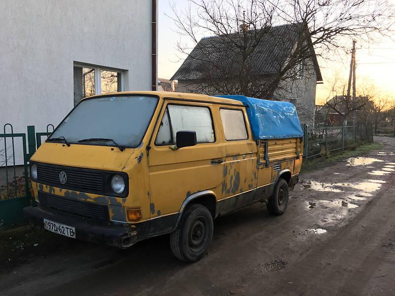 Микроавтобус грузовой (до 3,5т) Volkswagen T3 (Transporter) пасс.