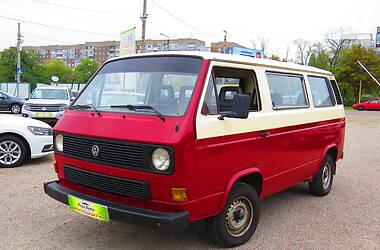 Volkswagen T3 (Transporter) пасс.  1990