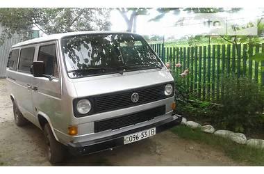 Volkswagen T3 (Transporter)  1989