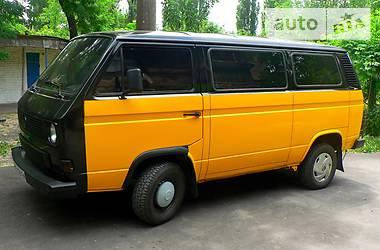 Volkswagen T3 (Transporter) Passenger 1986