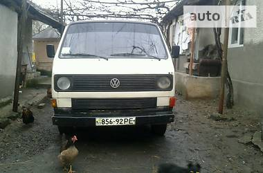 Volkswagen T3 (Transporter) 1985