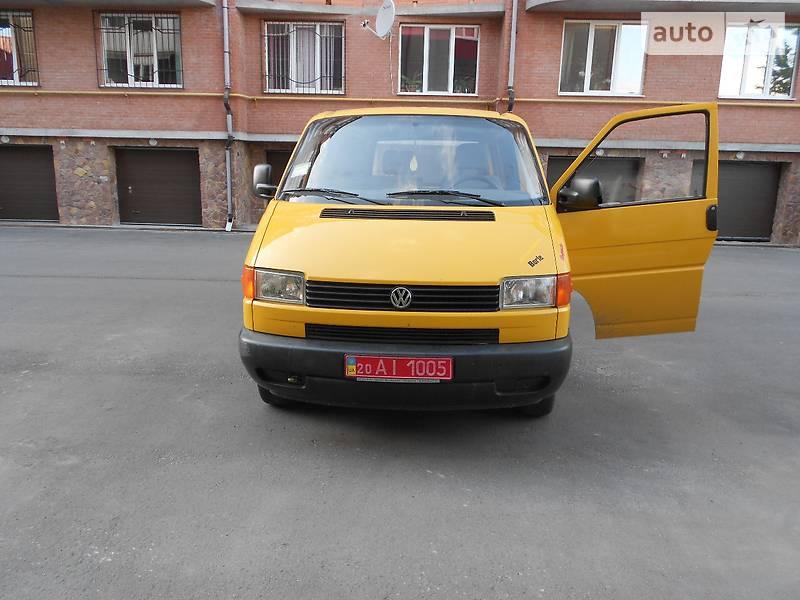 Volkswagen T4 (Transporter) груз.