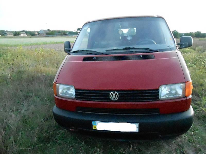 Volkswagen Transporter 2000 года