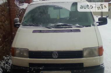 Volkswagen T4 (Transporter) груз  2001