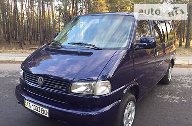 Volkswagen T4 (Transporter) пасс. Caravelle 2003