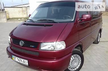Volkswagen T4 (Transporter) пасс. 2.5tdi+condicioner 2003