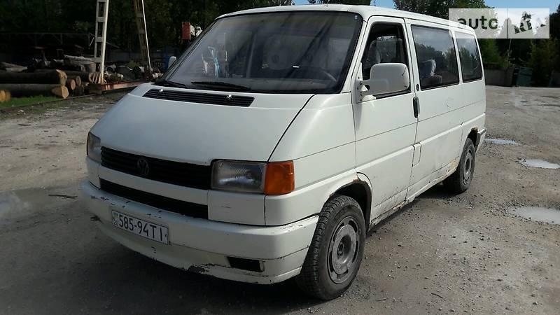 Volkswagen Transporter 1994 года