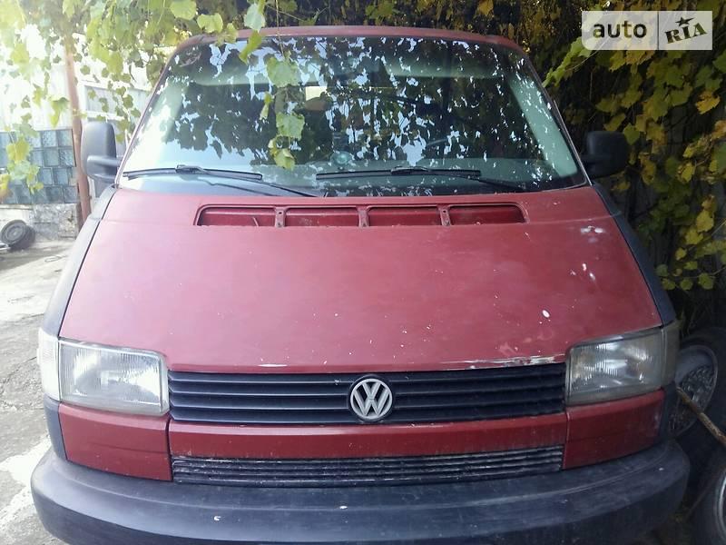 Volkswagen Transporter 1993 года