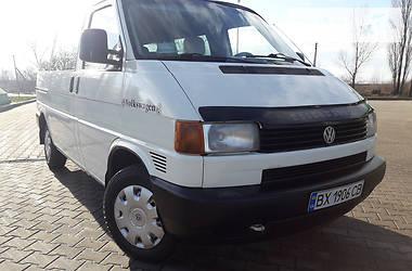 Volkswagen T4 (Transporter) пасс. 1.9TDI   2001